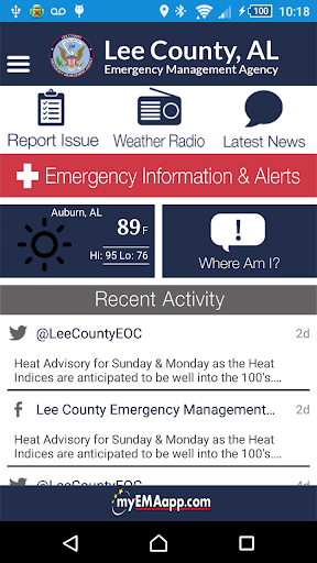 Lee County EMA screenshot 1