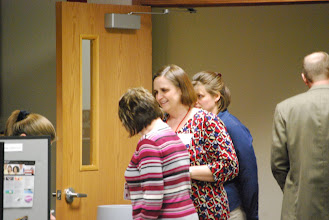 Photo: Kwik Trip alumni employees start checking in