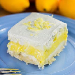 Lemon Lush Lasagna.
