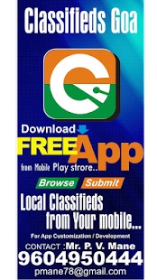 Classifieds Goa- screenshot thumbnail