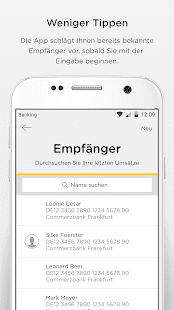 Commerzbank Banking App- screenshot thumbnail