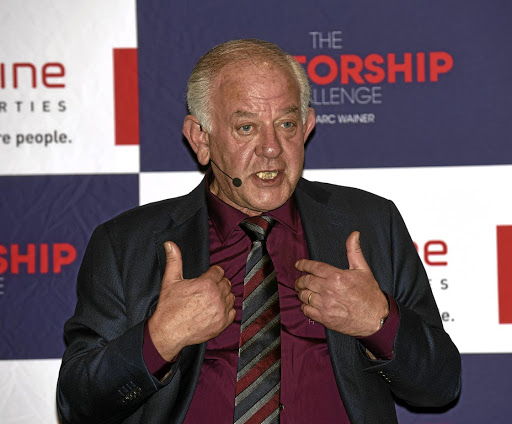 Boxing clever: Redefine Properties chairman Marc Wainer says his new television show The Mentorship Challenge will facilitate a much-needed opportunity for prominent business people to share their skills with talented youth. Picture: FREDDY MAVUNDA