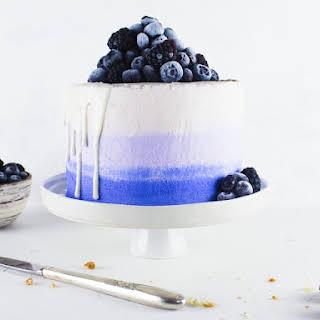 Blueberry Poppy Seed Lemon Cake.