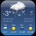 Free Weather Forecast & Clock Widget icon