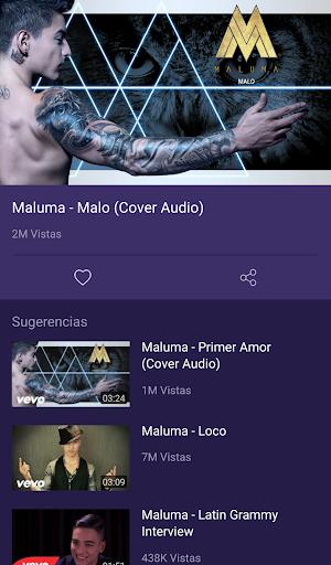 Maluma - música y vídeos