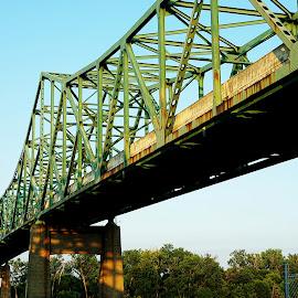 by Karen McKenzie McAdoo - Buildings & Architecture Bridges & Suspended Structures