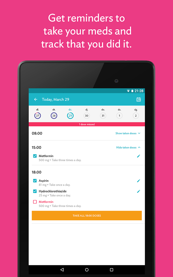 CareZone- screenshot