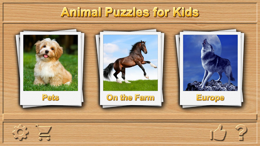 Animal Puzzles for Kids apkpoly screenshots 1