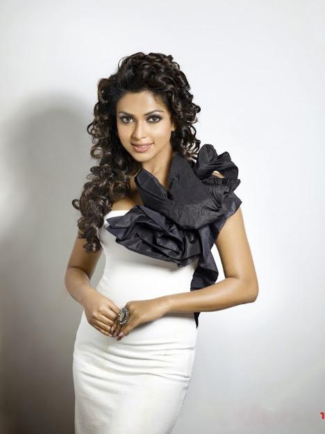 Amala Paul in white dress