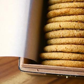 Gluten and Dairy Free Honey Cookies.