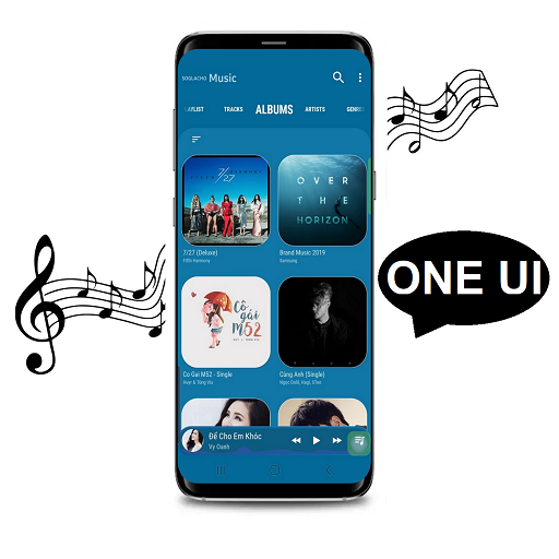 Note 10 Music player One UI S10 S10+ APK Cracked Download