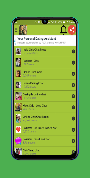 Girls Chat Meet | Meet With New Friends – (Android Apps