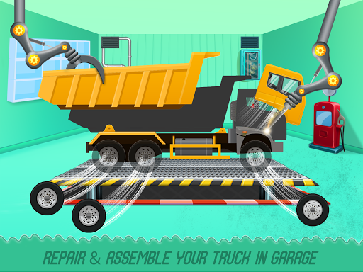 Kids Truck Adventure: Road Rescue Car Wash Repair  screenshots 1