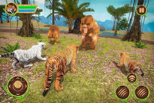 Tiger Family Simulator: Angry Tiger Games Apk 2