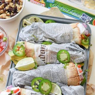 On-The-Go Breakfast Burrito Cones.
