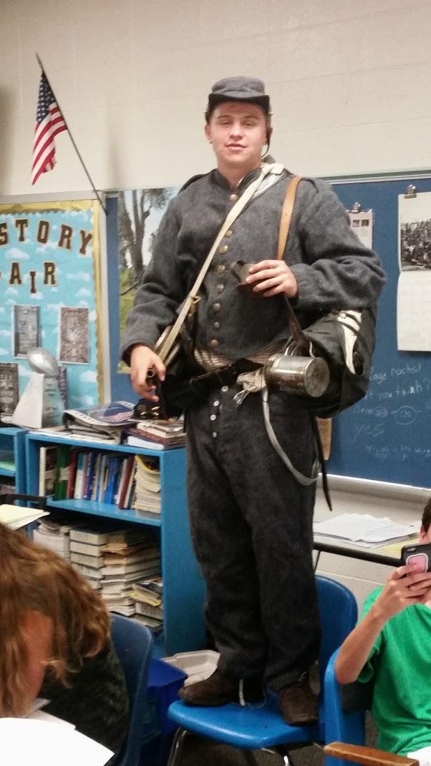 Civil War Confederate Soldier - 2