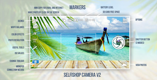 SelfiShop Camera 2.86 screenshots 1