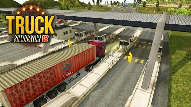 Truck Simulator 2018 : Europe APK screenshot thumbnail 1