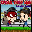 Spider Thief Man : Runner Game icon