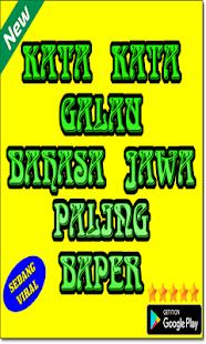 Kata Kata Galau Bahasa Jawa Paling Baper Hileli Apk Indir 1111