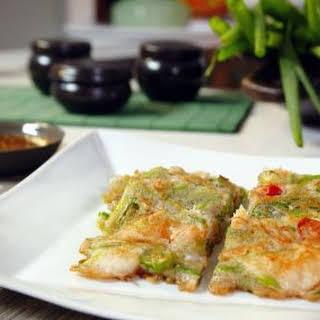 Pajeon Korean Pancakes.