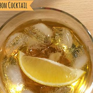 Maple-Lemon Bourbon Cocktail.