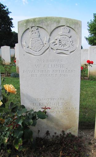 William Letham Clunie grave