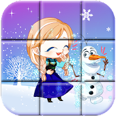 Ice Princess Frozen Puzzle