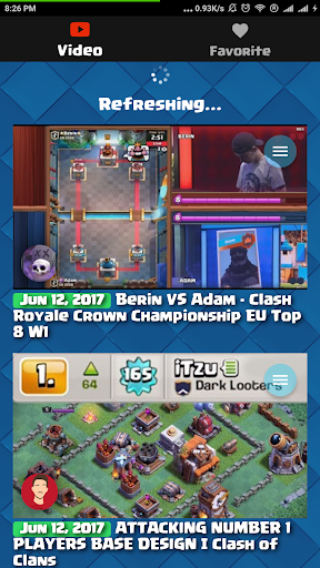 RoyaleTube for Clash Royale, CoC, Brawl Stars 1.0.12 screenshots 1