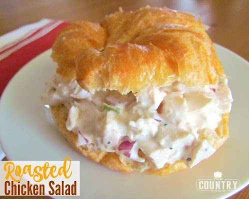 Click Here for Recipe: Roasted Chicken Salad