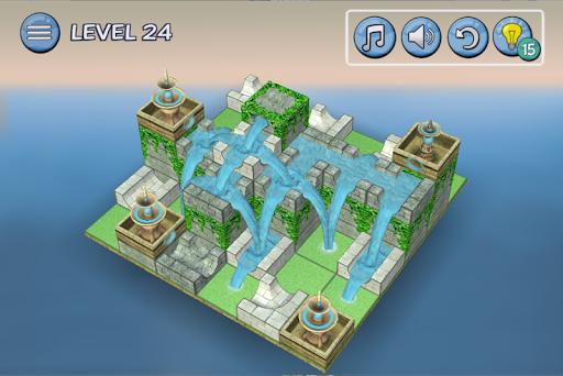 Flow Water Fountain 3D Puzzle Screenshots 5