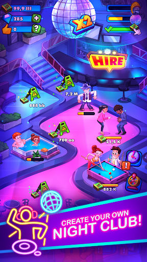 Party Clicker u2014 Idle Nightclub Game apktram screenshots 1