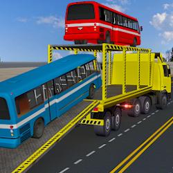 Bus Transporter Truck Flight