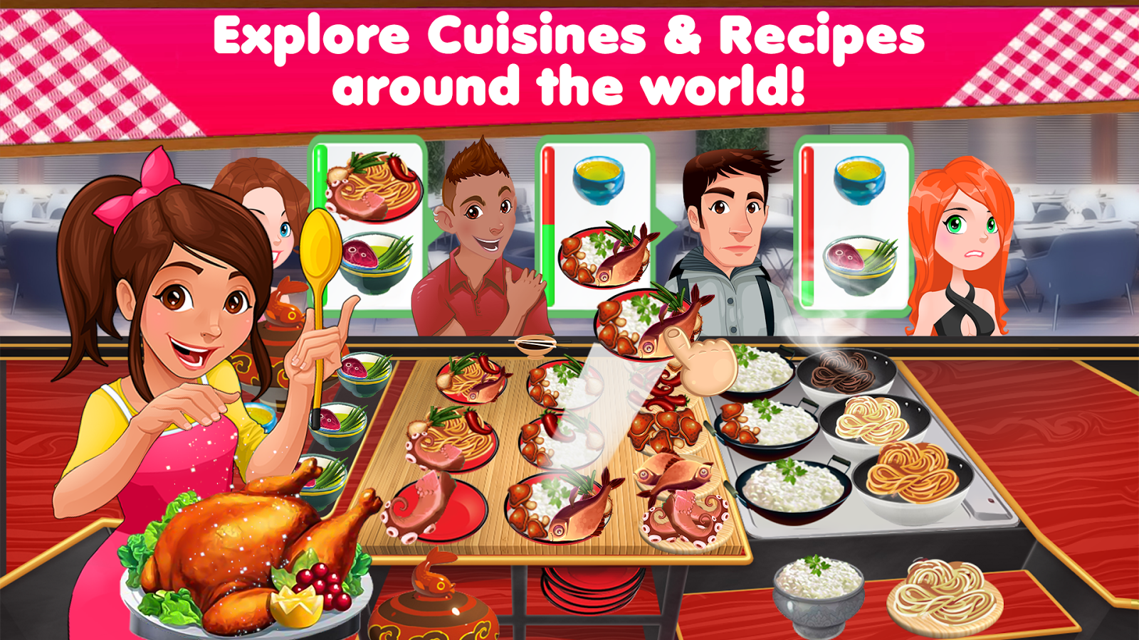 Mexican Food Cooking Games
