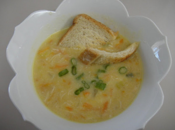 Chicken Cheese Soup Recipe