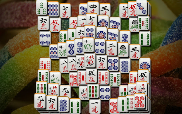 Mahjong Solitaire Deluxe Game