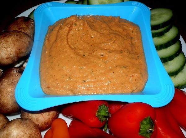 Low Fat Red Pepper Hummus Recipe
