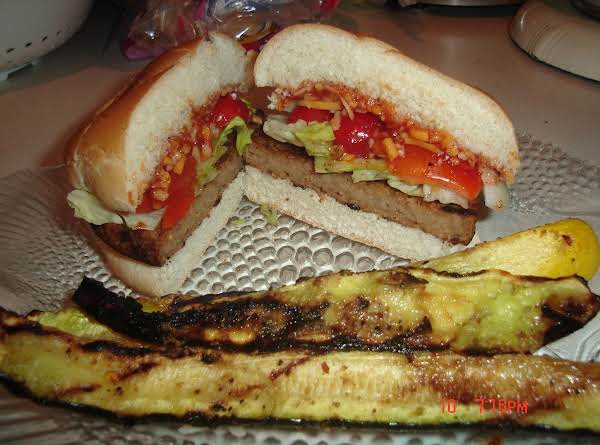Spicy American Meatless Burger Recipe