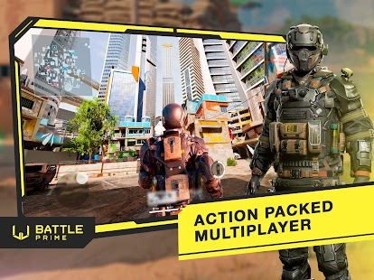 Battle Prime: Online Multiplayer Combat CS Shooter Screenshot