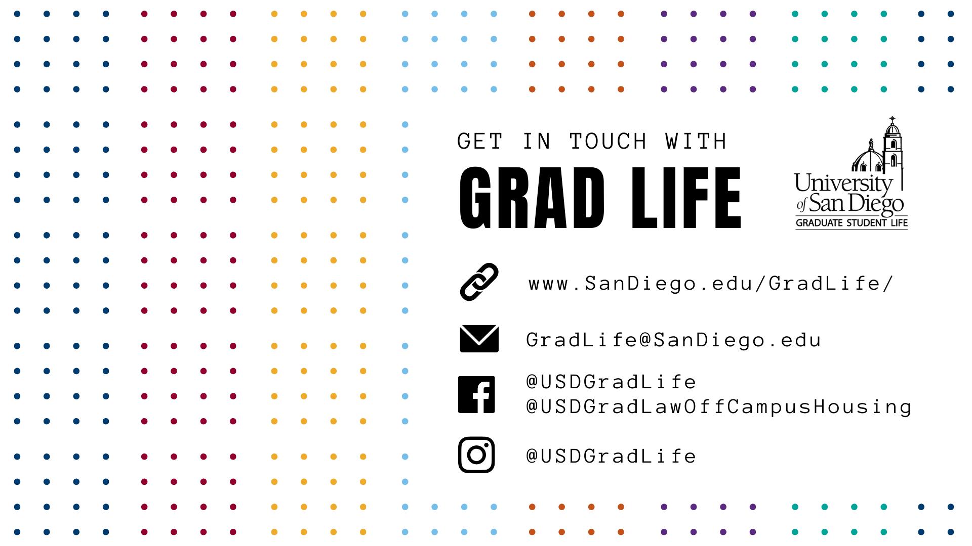Contact Graduate Student Life