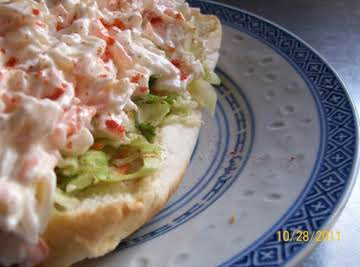 A Lady's Crab Roll
