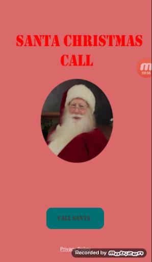 Santa christmas Call 1.2 screenshots 2