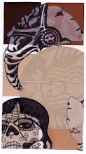 Photo: Wenchkin's Mail Art 366 - Day 149, Card 149a
