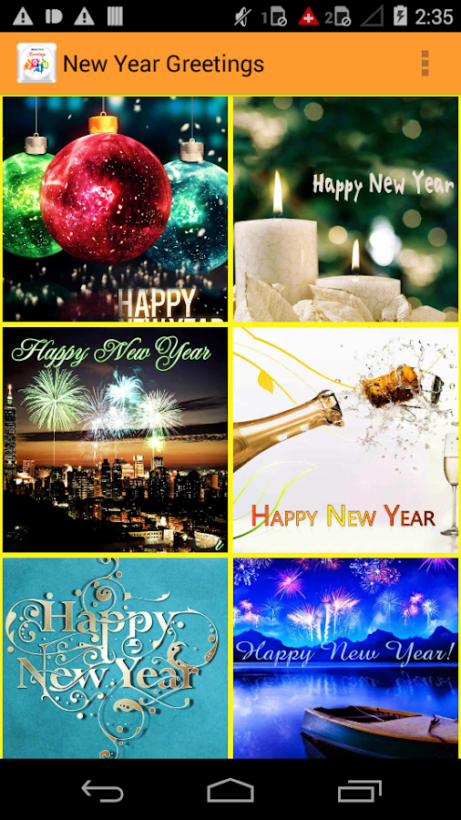 Happy New Year 2016 Greetings- screenshot