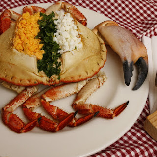 Stuffed Crab in Shell.