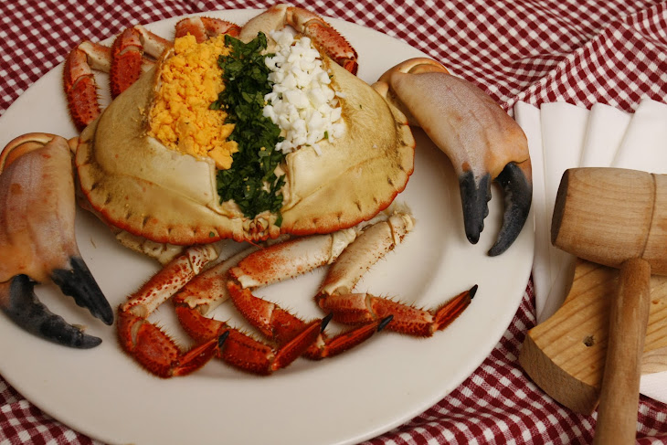 Stuffed Crab in Shell