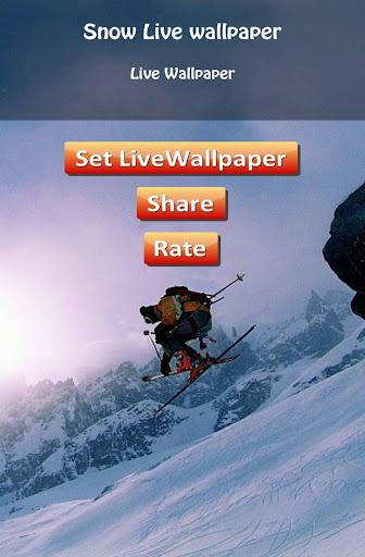 HD Snow Live Wallpaper