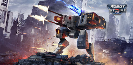 Robot Strike 3D game (apk) free download for Android/PC/Windows screenshot