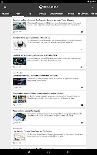heise online - News 3.4.2 screenshots 10