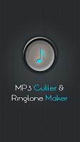 screenshot of MP3 Cutter & Ringtone Maker